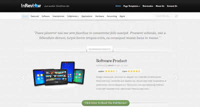 InReview Wordpress Theme