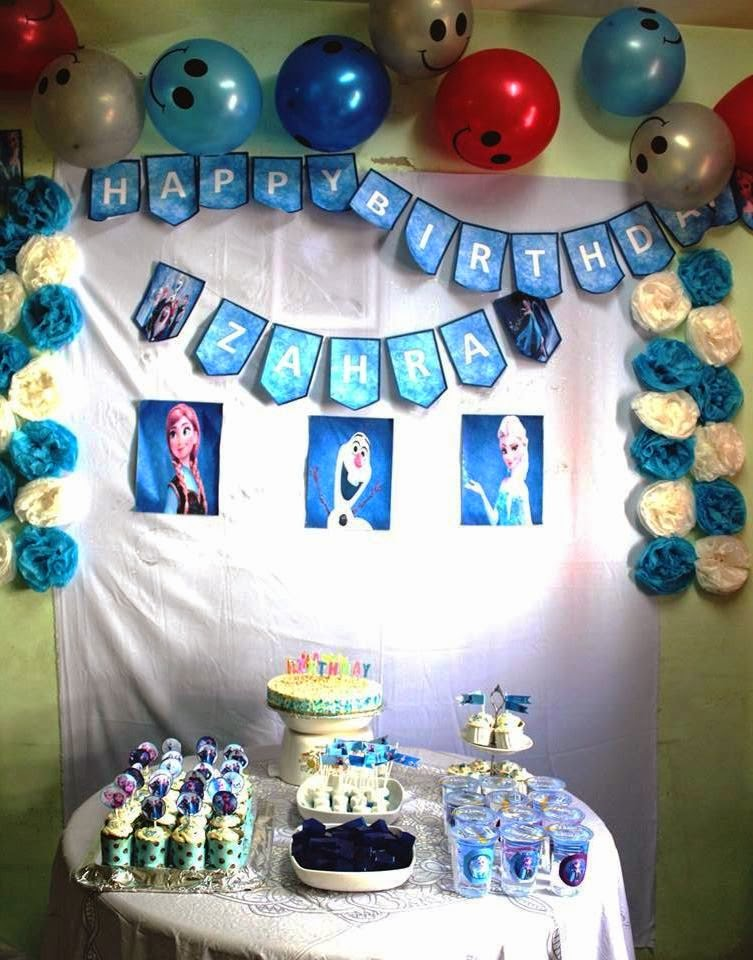 Zahra Frozen Birthday Party!