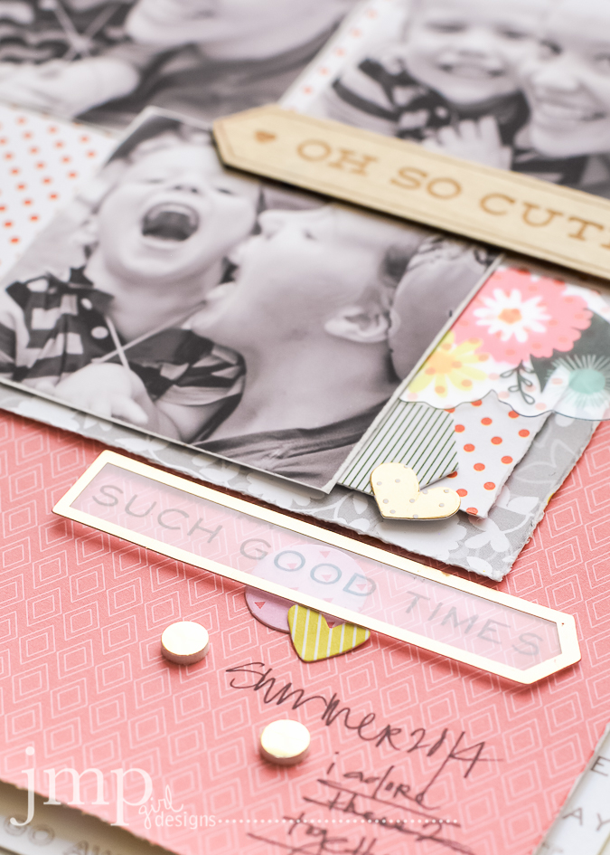 Oh So Cute | Citrus Bliss from Pink Paislee @pinkpaislee @jamiepate