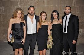 بالصور: نجوم مصر والعالم العربي على السجادة الحمراء فى حفل إنطلاق MBC مصرية