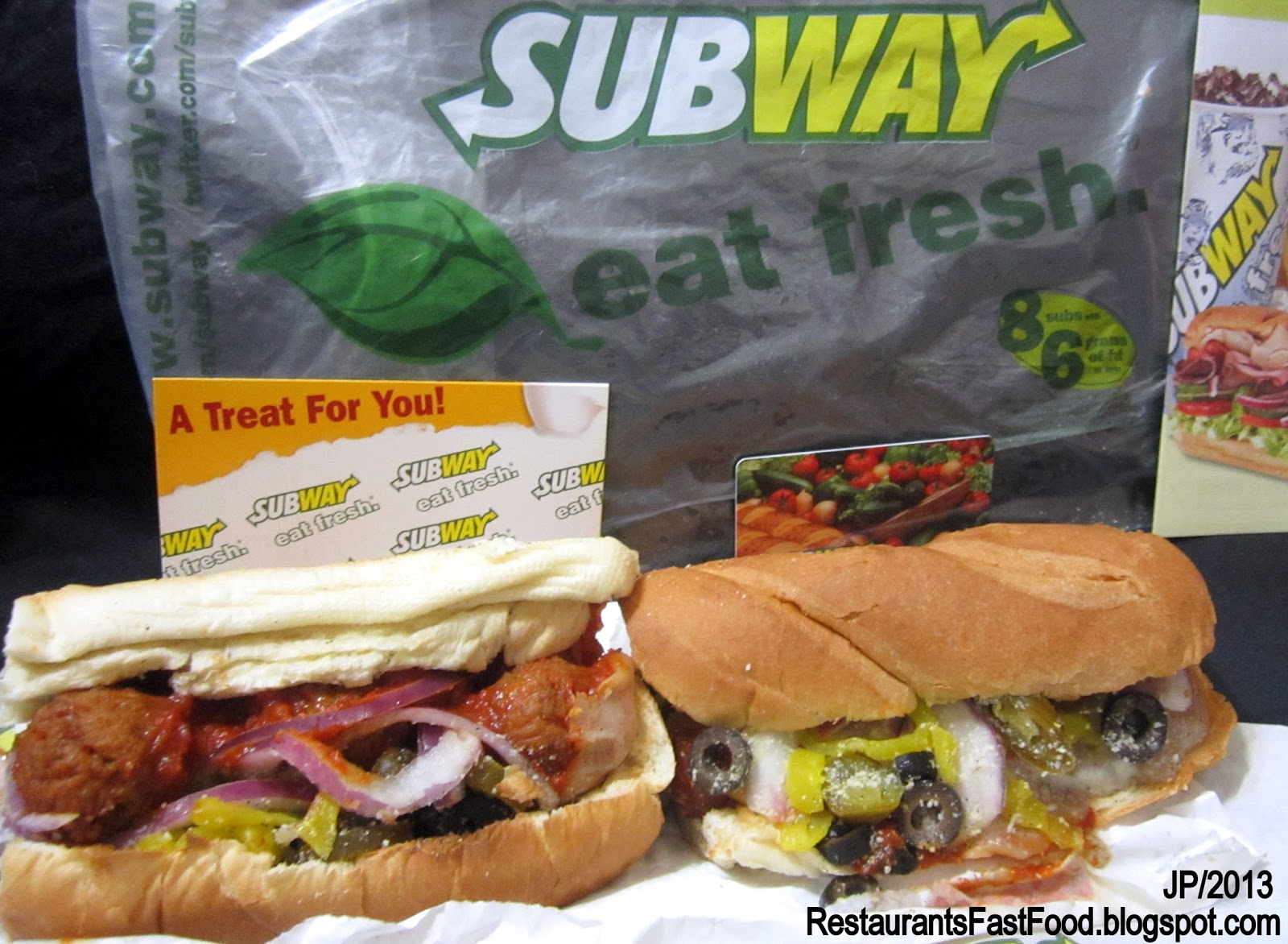 fast food and subway Subway is a fast food restaurant that primarily sells sub sandwiches and salads because of that, they are generally considered to be one of the healthier choices.