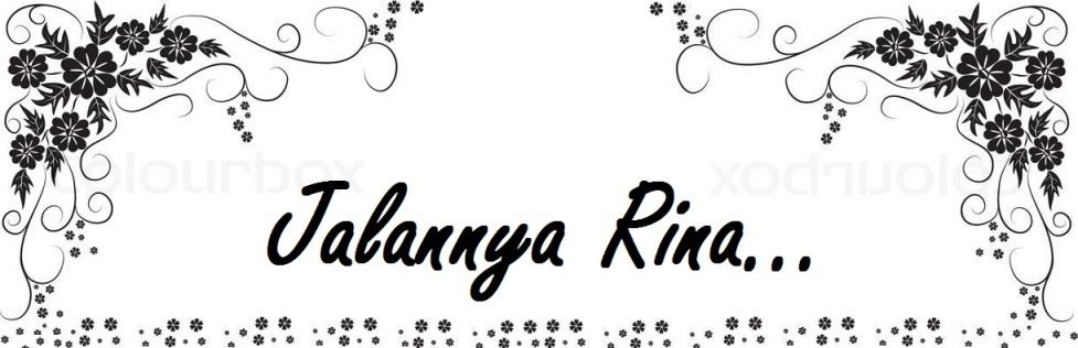 Jalan-jalan dengan Rina