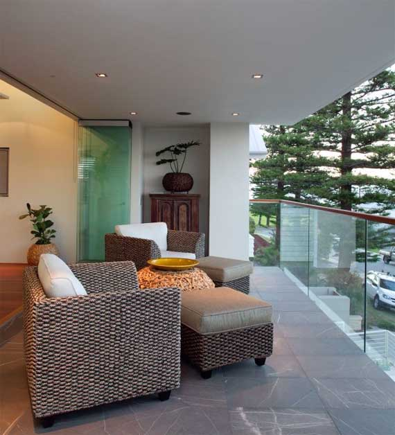 Cottesloe house modern house design in perth by paul for Balcony ki photo