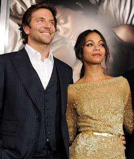 Bradley Cooper and Zoe Saldana