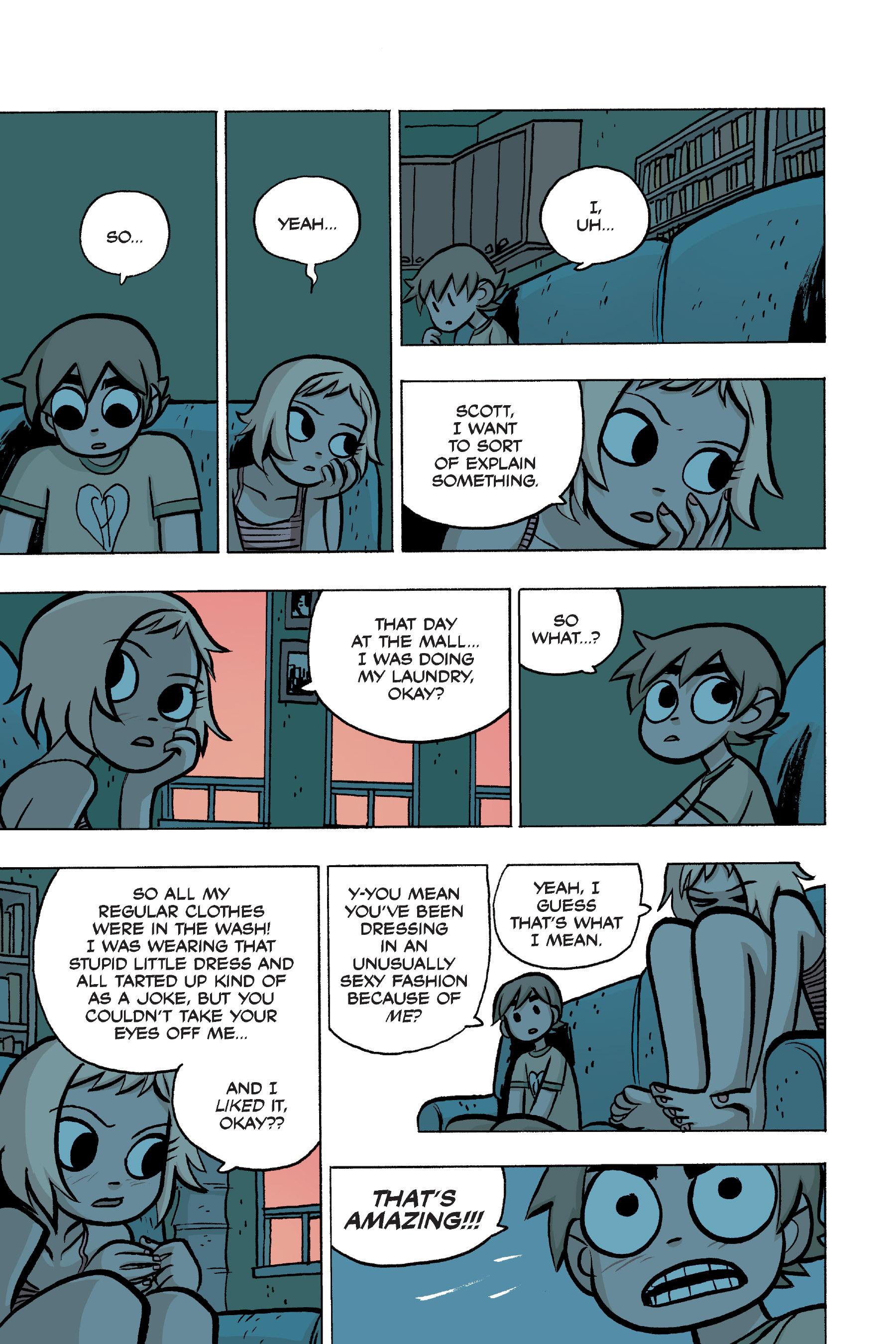 Read online Scott Pilgrim comic -  Issue #4 - 135