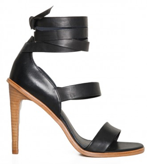 tibi lace up sandals