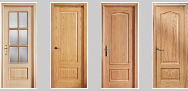 Maderas y tableros puertas de madera venta de puertas de for Ver precios de puertas de madera