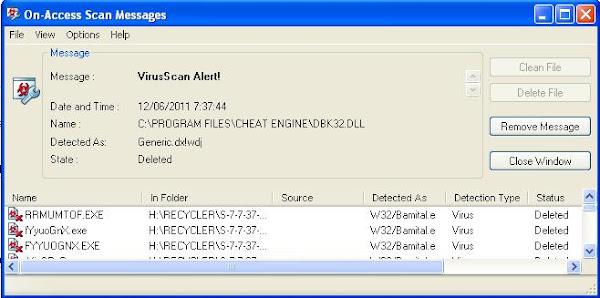 how to detect alureon virus