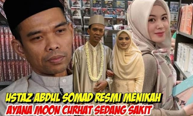 Ayana Moon : Sakit, Ustad Abdul Somad Menikah | LihatSaja.com