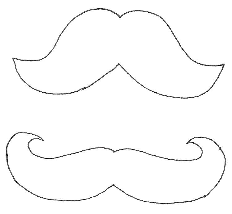 Deshilachado: Tutorial Día del Padre: cuello con bigote / Father\'s ...