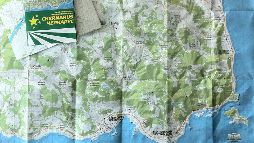 how to open up map in dayz standalone