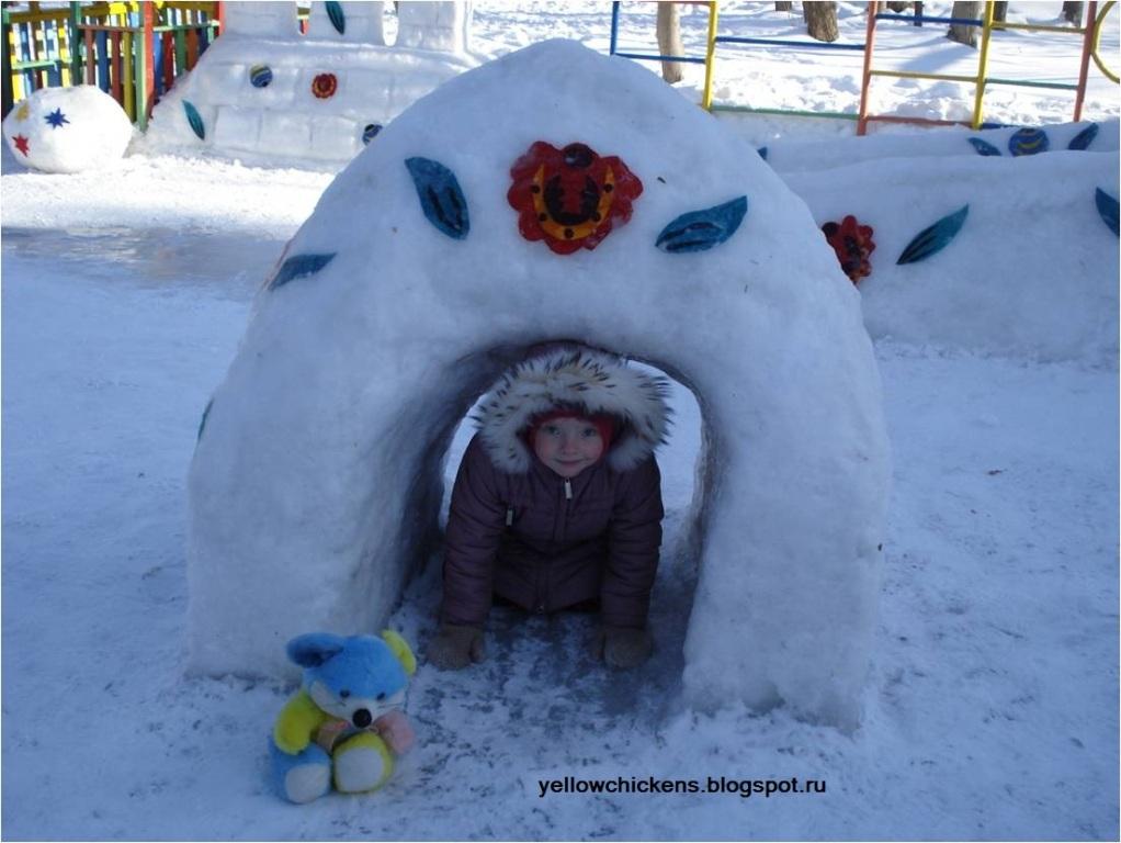 Для детей своими руками зимой 22