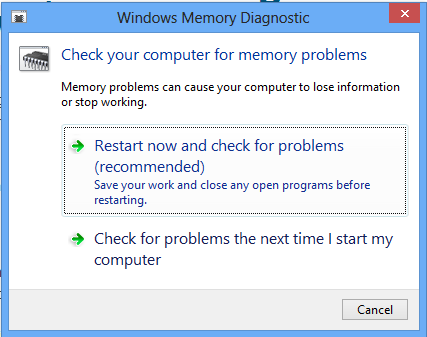 Gỡ lỗi bộ nhớ trong Windows với Windows Memory Diagnostic