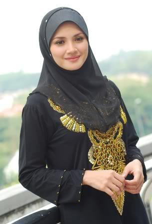 Gambar Artis Wanita Tercantik Malaysia Apabila Bertudung