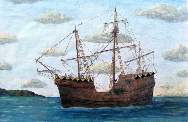 Gambar Kapal Layar Carrack