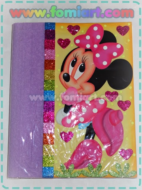 Descarga Moldes de Minnie Mouse