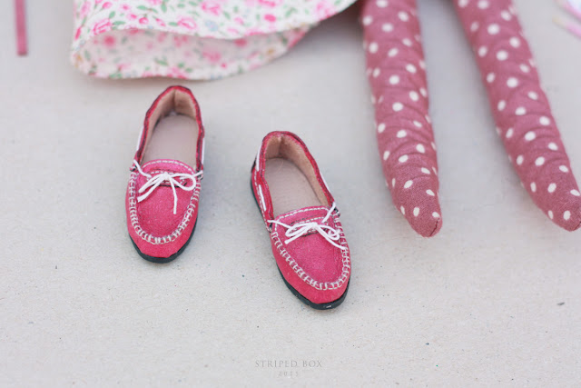 1/6 обувь для куклы