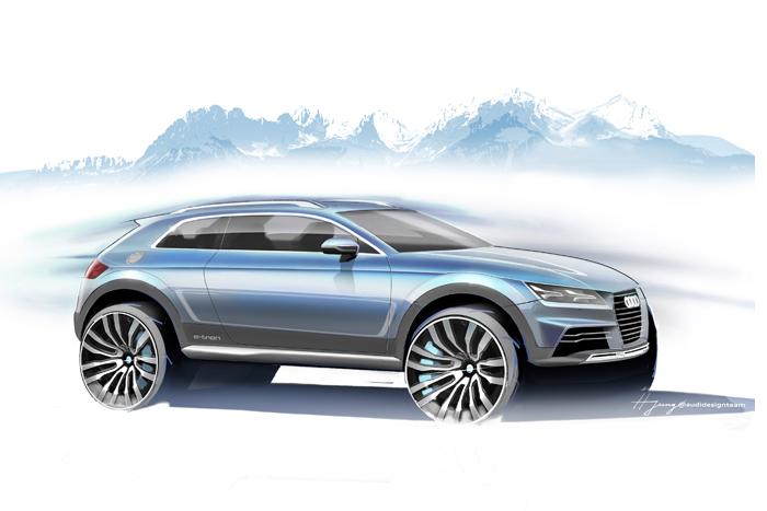 Audi desvela un nuevo prototipo crossover