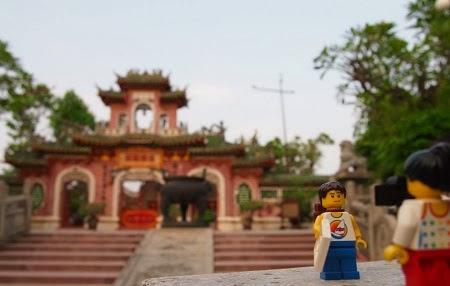 đồ chơi Lego du lịch khắp Việt Nam