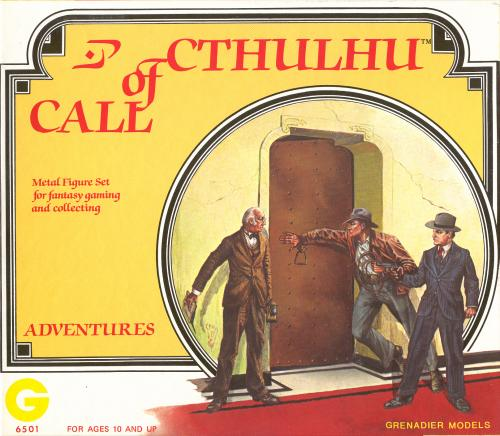 Call Of Cthulhu Miniatures. Call of Cthulhu miniatures