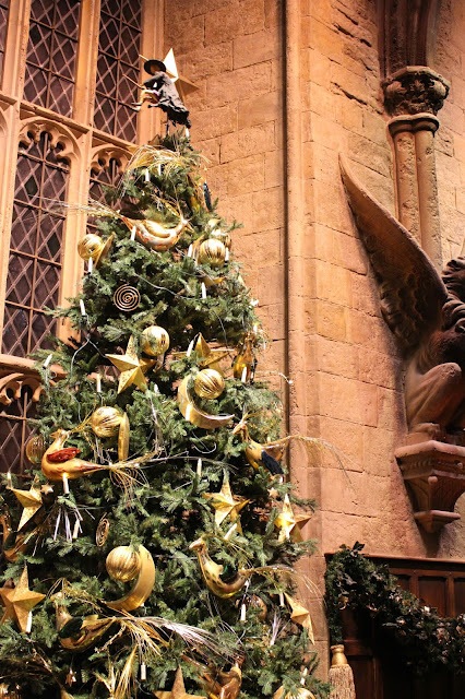 Christmas Hogwarts Harry Potter
