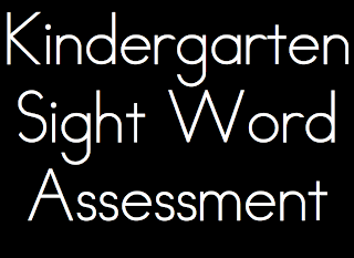 (freebie) sight here book Assessment word Sight  Word