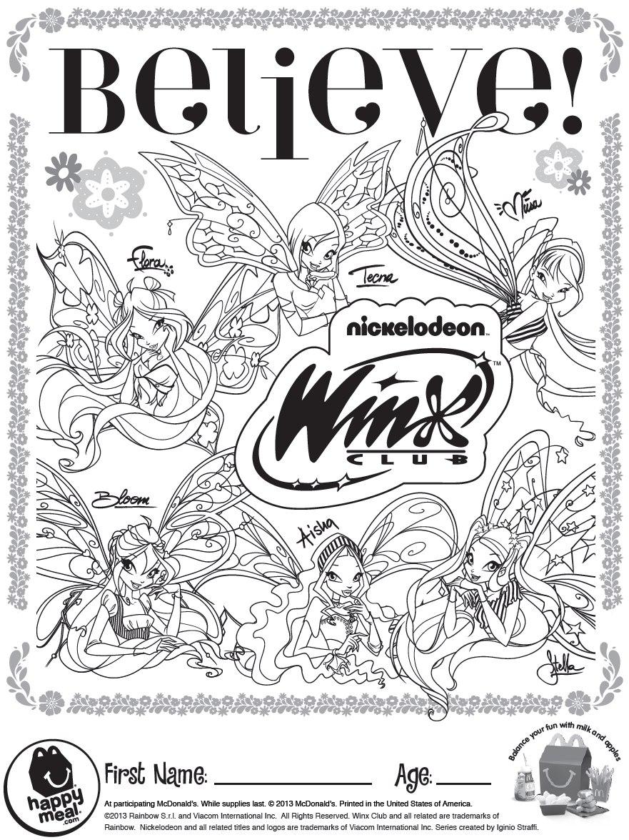 The Magical Winx Winx Club Believex Dolls in McDonald 39 s