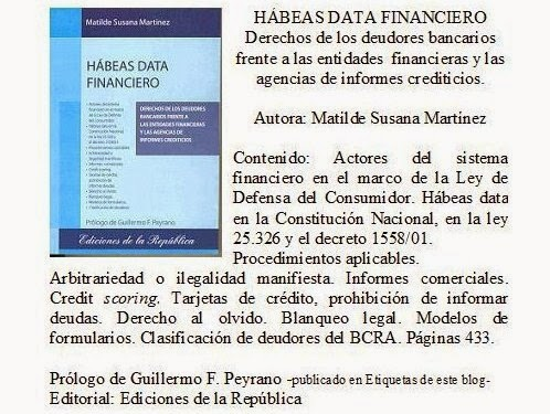 Libro Hábeas Data Financiero