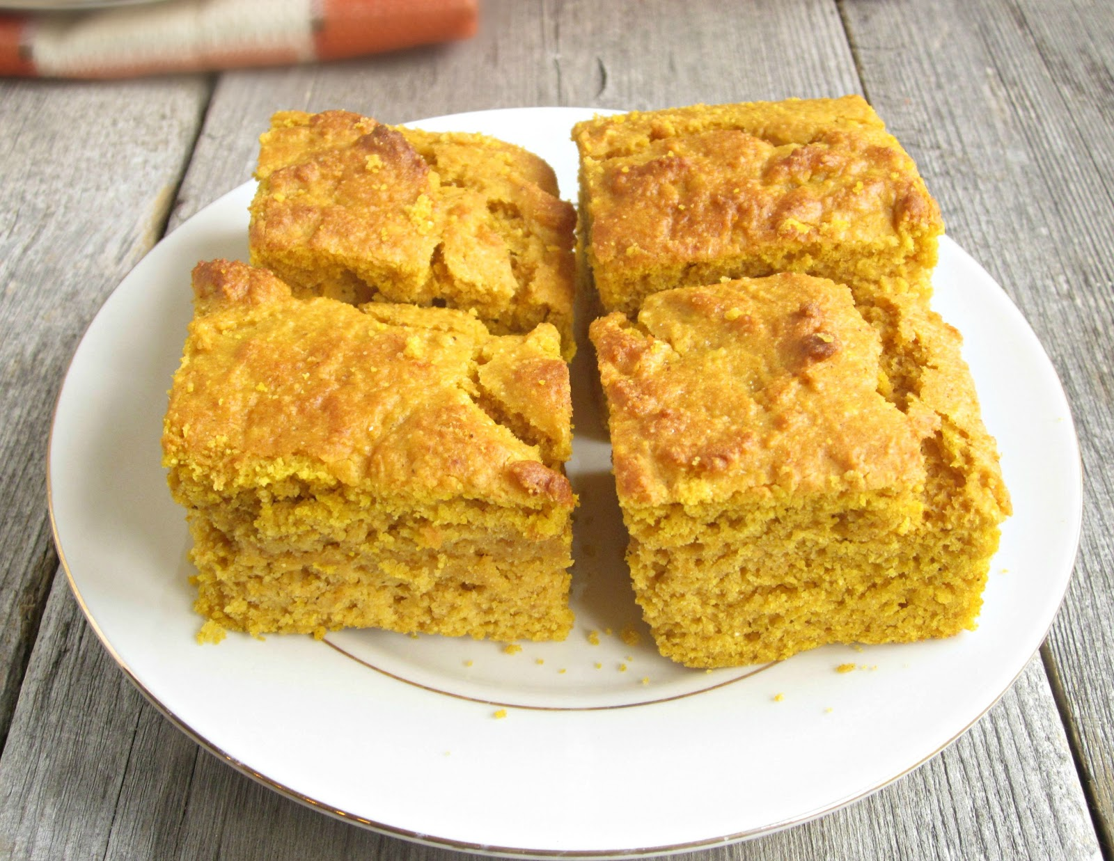 Hungry Couple: Moist Pumpkin Cornbread