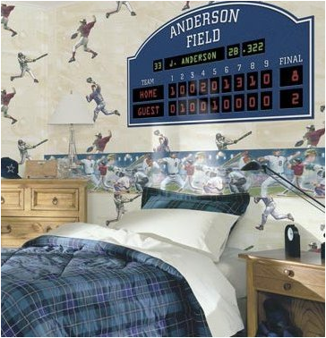 Sports Themed Bedroom Accessories Young Boys Sports Bedroom Themes Room Design Ideas