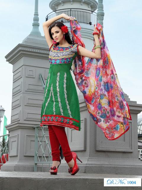 Designer Anarkali Salwar Kameez, Fancy Embroidery Anarkali Salwar Suits in Delhi