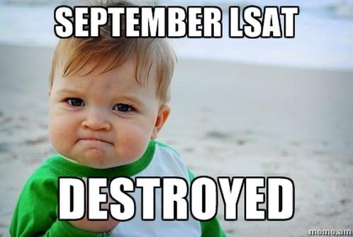 LSAT Blog September 2014 LSAT Score Release Dates