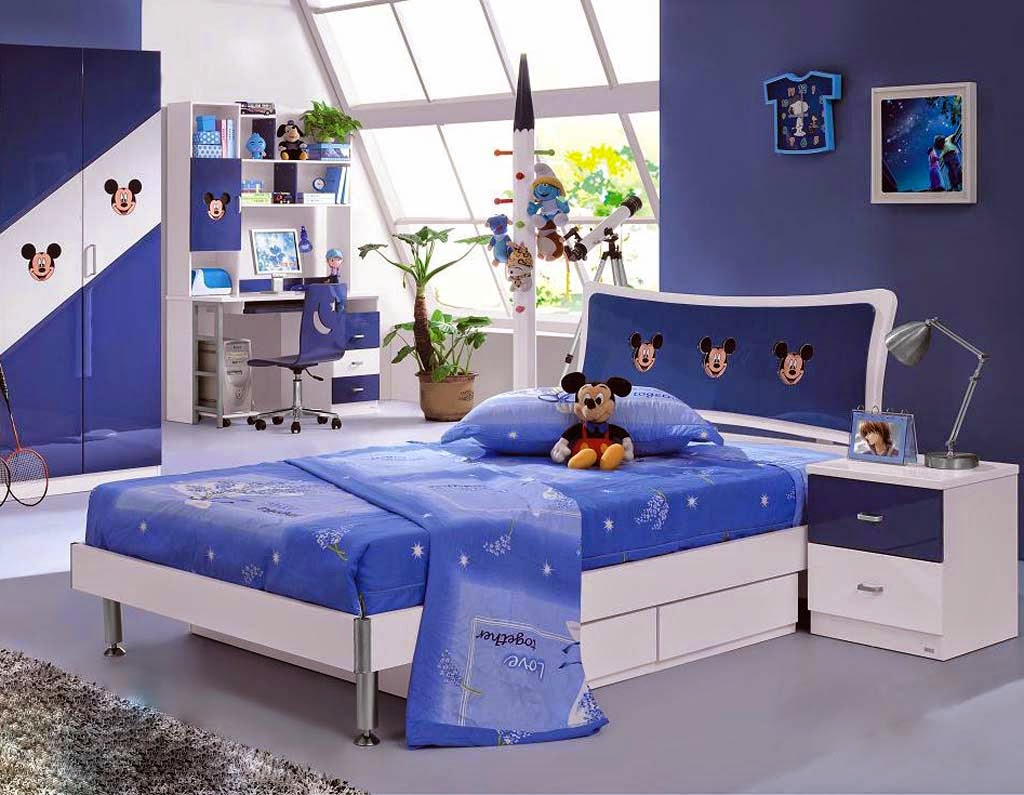 Mickey Mouse Style Kids Bedroom