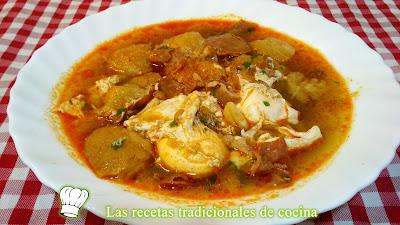 Receta de la sopa Castellana