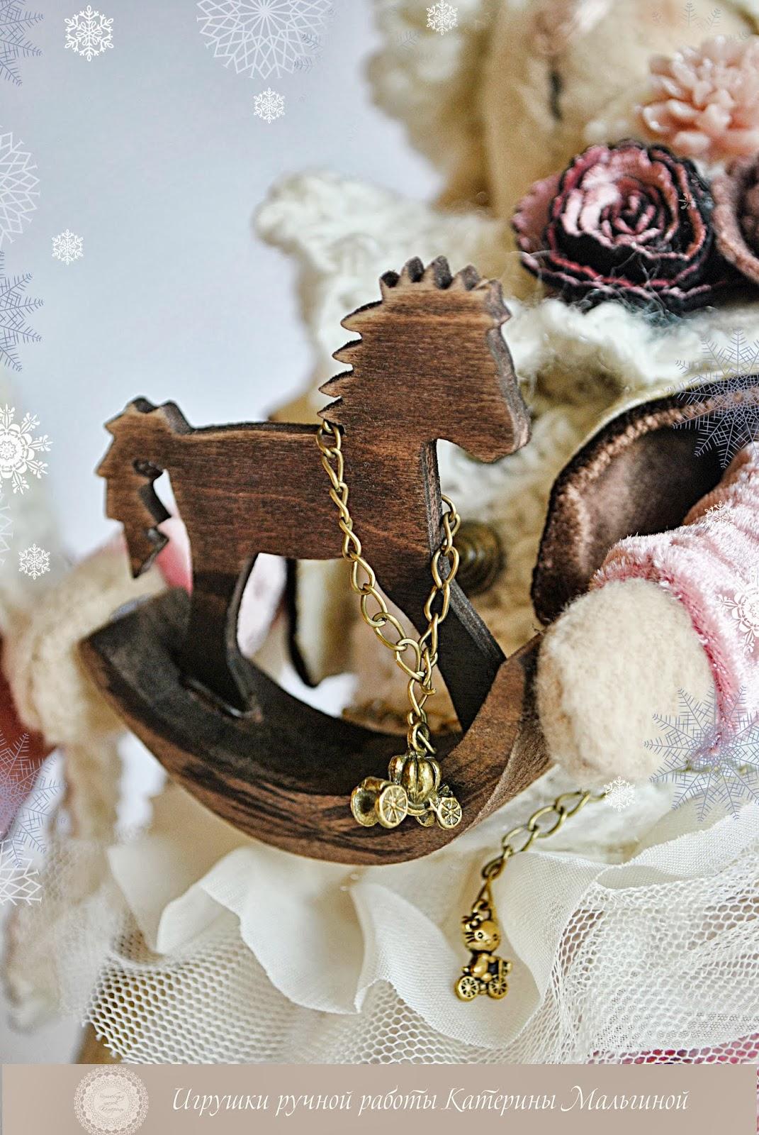 Шоколадные зайки с сердцем и лошадкой