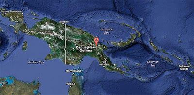 Sismo 6,7 grados Papua Nueva Guinea 21 de Marzo 2012