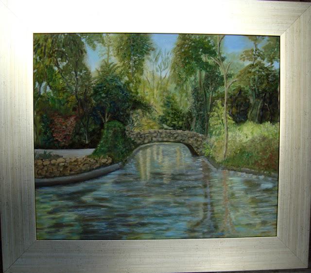 Marinela y sus pinturas el estanque de los patos for Pintura para estanques