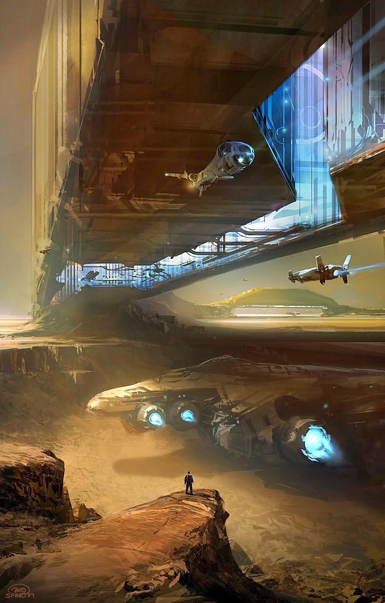 Illustrazione di Nicolas Bouvier (da www.sparth.com)