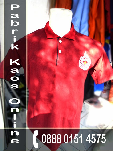 Produsen Kaos Surabaya, Kaos Berkerah, Kaos Polo Sablon