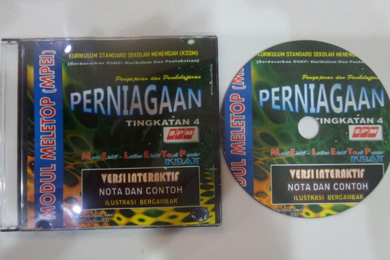 CD MODUL MPEI PERNIAGAAN (VERSI INTERAKTIF) 2017