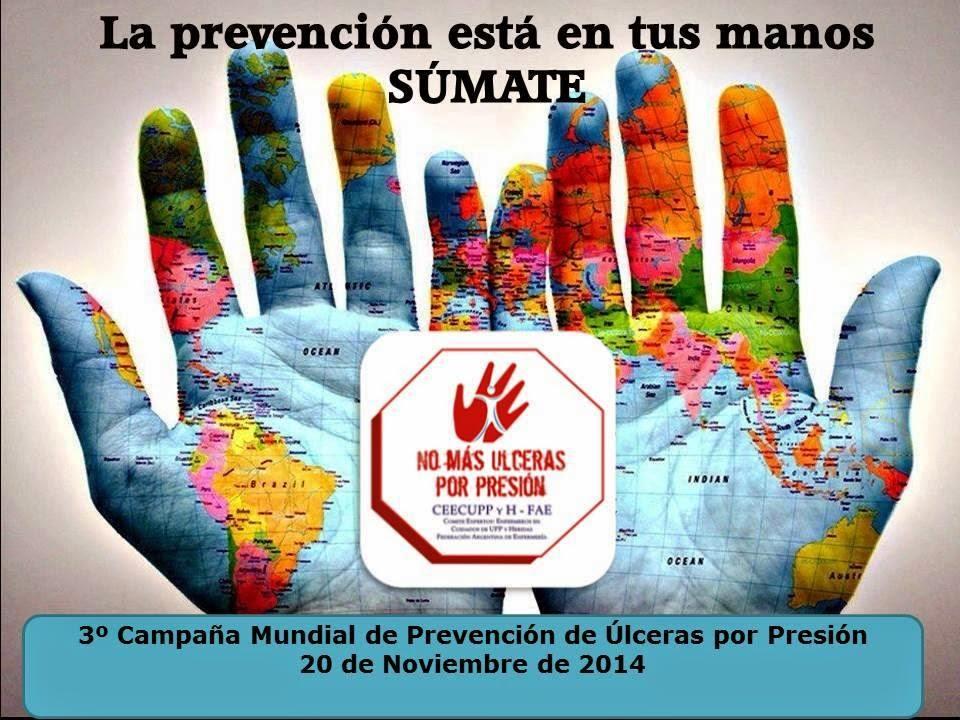 3º CAMPAÑA MUNDIAL DE PREVENCION DE ULCERAS POR PRESIÓN