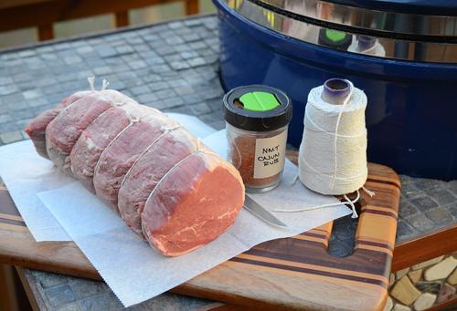 Cajun style roast beef, homemade lunch meat