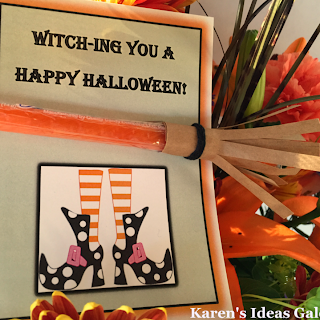Candy Witch Broom Treat