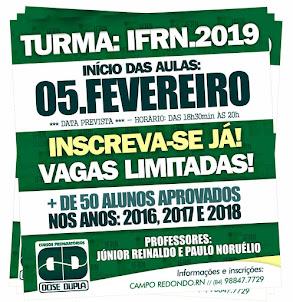 CURSO PREPARATÓRIO DOSE DUPLA 2019