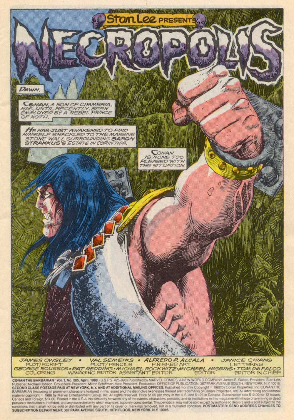 Conan the Barbarian (1970) Issue #205 #217 - English 2