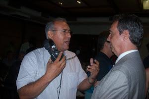 ENTREVISTANDO O PRESIDENTE DA FEDERAÇÃO DR. EVANDRO CARVALHO