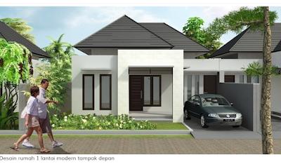 Warna Rumah Minimalis Tampak Depan