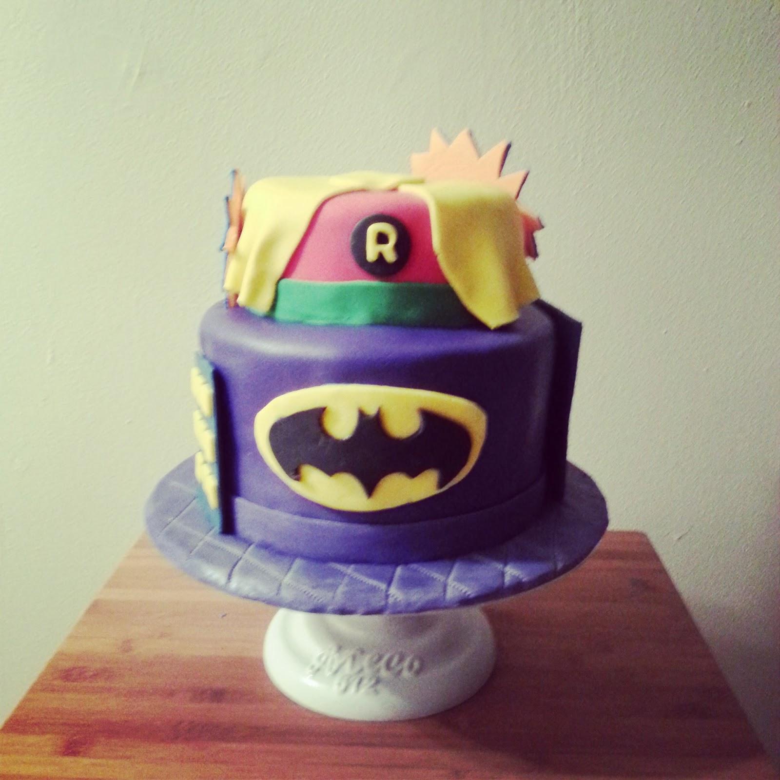 The Orange Apron Cakery Batman And Robin Cake