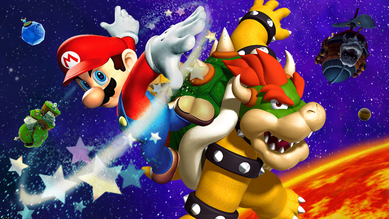 Super Mario HD & Widescreen Wallpaper 0.409389212417569