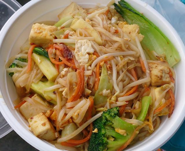 Nipa Hut, Mitcham, vegetarian, pad thai